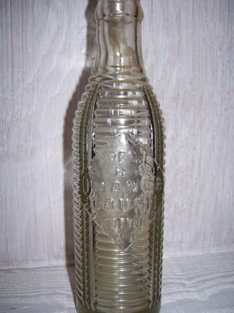 Old Orange Crush Bottles
